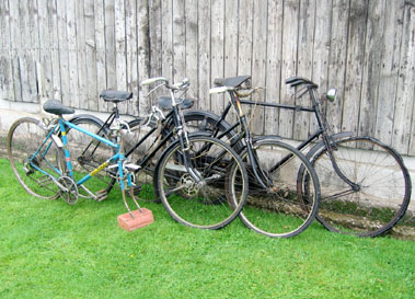 Lot 9-Small Collection of Bicycles
