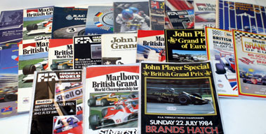 Lot 48-Quantity Of Grand Prix Programmes