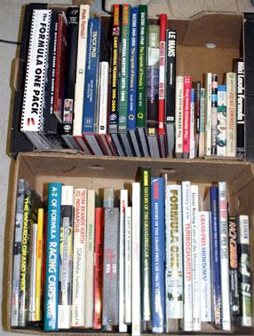 Lot 36-Qunatity Of Motor Sport Books