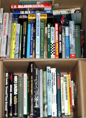 Lot 40-Quantity Of Motor Sport Books
