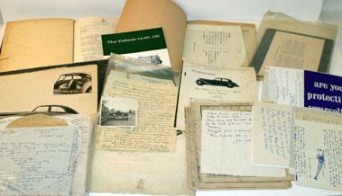 Lot 54-Correspondence Relating To Pre-War Talbots