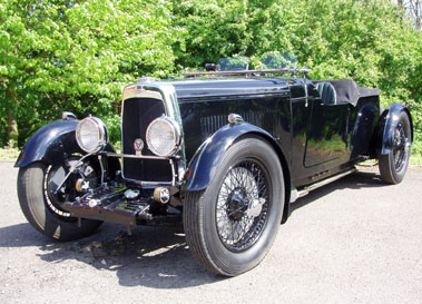 Lot 33-1933 Aston Martin 1.5 Litre 12/50 Tourer