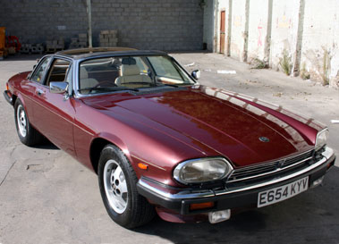 Lot 25-1987 Jaguar XJ-SC 5.3