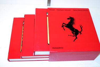 Lot 59-Ferrari Catalogue Raisonne 1946-90