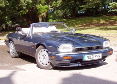 Lot 38-1996 Jaguar XJS 4.0 Celebration Convertible