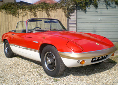 Lot 35-1972 Lotus Elan Sprint Convertible