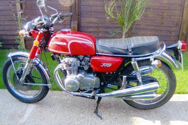 Lot 23-1974 Honda CB350F