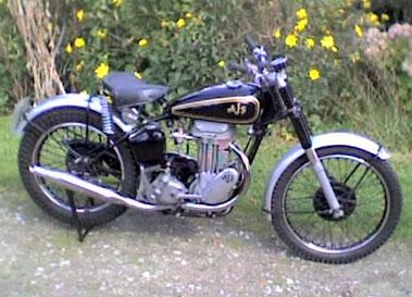 Lot 34-1950 AJS 16M Trials