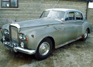 Lot 54-1964 Bentley S3 Saloon