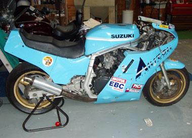 Lot 44-1985/6 Suzuki GSX-R750 R