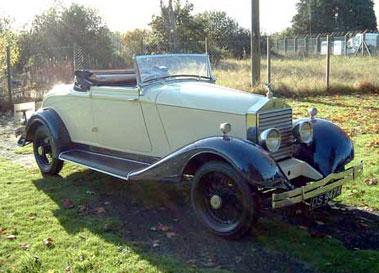 Lot 54-1924 Rolls-Royce 20hp Doctors Coupe