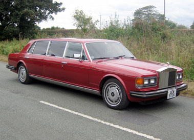Lot 64-1982 Rolls-Royce Silver Spur Stretch Limousine
