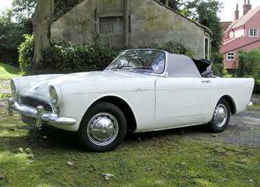 Lot 14-1960 Sunbeam Alpine