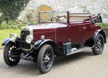 Lot 18-1927 Alvis 14.75 Three Quarter Coupe