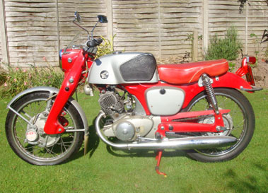 Lot 72-1964 Honda CB92