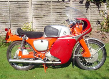 Lot 67-1964 Honda CB92 Sport
