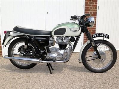 Lot 90-1967 Triumph TR6 Trophy
