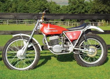 Lot 60-1976 Bultaco Sherpa T 238