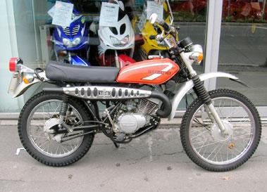 Lot 25-1976 Suzuki TS185