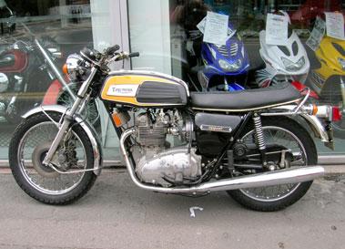 Lot 35-1975 Triumph T150 Trident