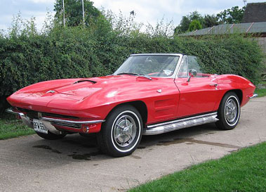 Lot 22-1964 Chevrolet Corvette Sting Ray Convertible