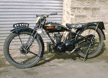Lot 19-1928 Raleigh 250cc