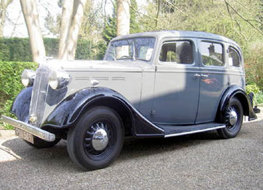 Lot 55-1936 Vauxhall DY 12/6 Saloon