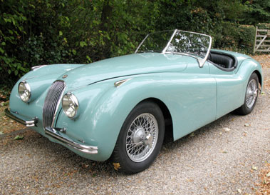 Lot 57-1954 Jaguar XK120 SE Roadster