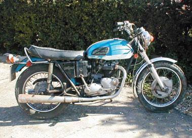 Lot 20-1973 Triumph TR6 Trophy