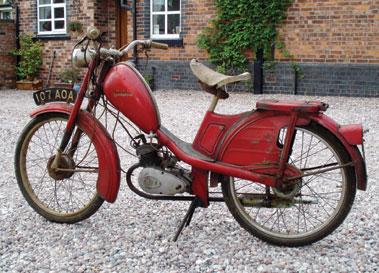 Lot 8-1959 Phillips Moped