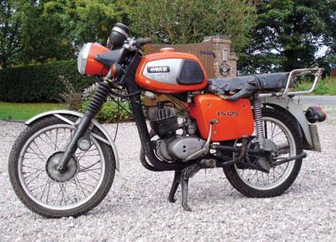 Lot 9-1983 MZ TS125