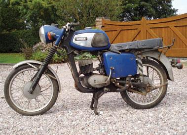Lot 11-1977 MZ TS150
