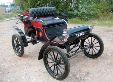 Lot 72-1903 Oldsmobile Curved Dash 5hp Runabout