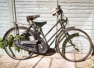 Lot 37-Collection of Barn Find Ladies Bicycles