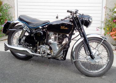 Lot 75-1958 Velocette Venom Clubman
