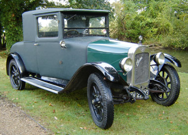 Lot 74-1928 Austin 12/4 Heavy Coupe