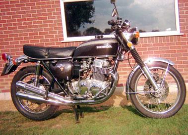 Lot 76-1972 Honda CB750