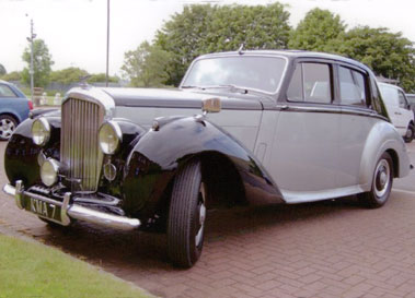 Lot 55-1953 Bentley R-Type Saloon
