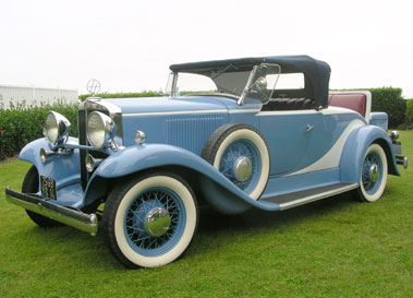 Lot 56-1933 Hupmobile B-316 Roadster