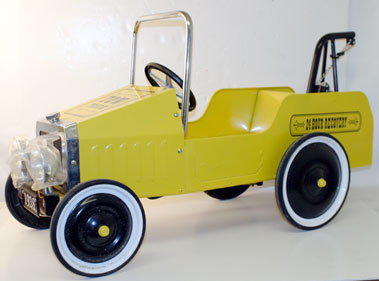 Lot 202-ChildS Tow Truck Pedal Car
