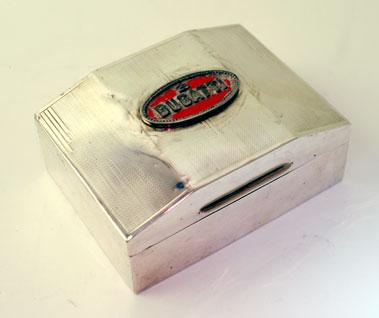 Lot 204-Bugatti Badged Cigarette Box
