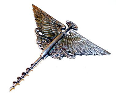 Lot 212-Austin Wings Wine Corkscrew