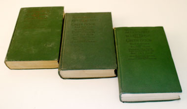 Lot 100-Three Editions Of The Automobile Green Book