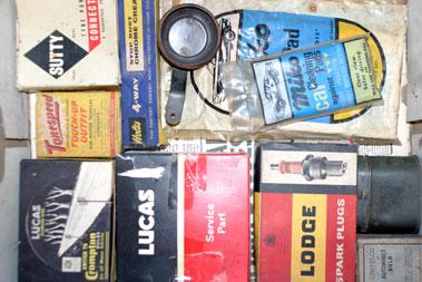 Lot 223-Assorted Garage Clearance Automobilia