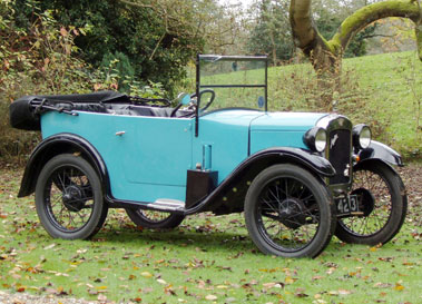 Lot 37-1930 Austin Seven Chummy Open Tourer
