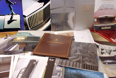 Lot 107-Good Quantity Of Rolls-Royce & Bentley Literatur E