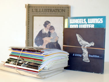 Lot 110-Assorted Motoring Related Literature