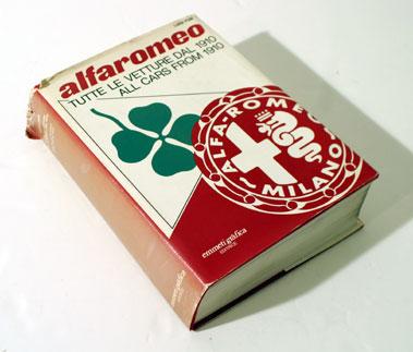 Lot 111-Alfa Romeo - All Cars From 1910 By Fusi