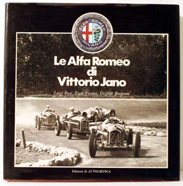 Lot 112-Le Alfa Romeo Di Vittorio Jano