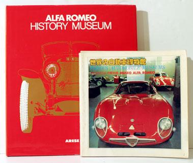 Lot 115-Two Alfa Romeo Museum Books